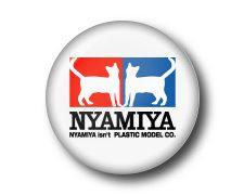 NYAMIYA・缶バッジ