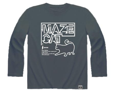 MAZE CAT・長袖・フロント